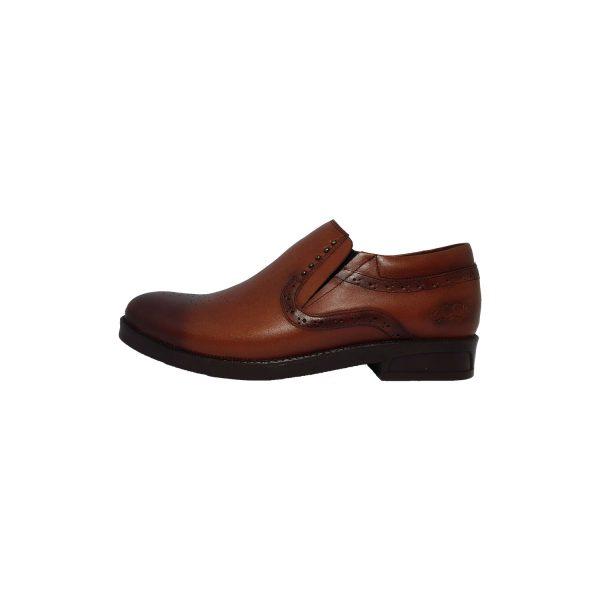 کفش روزمره مردانه کد gcm-2002 رنگ عسلی