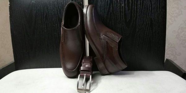 کفش روزمره مردانه کد gcm-2006 رنگ قهوه ای