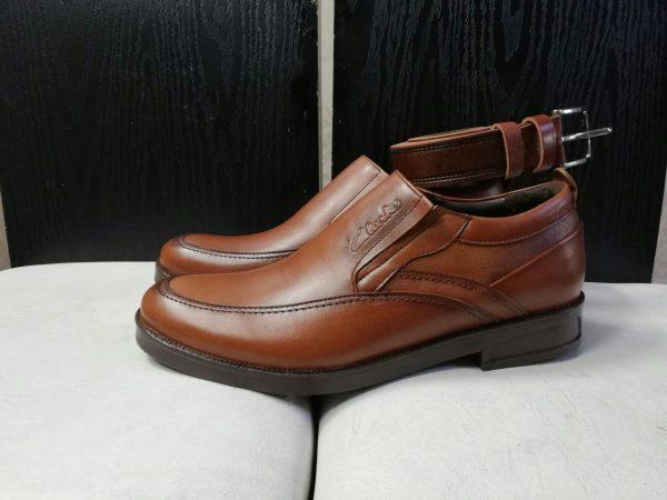 کفش روزمره مردانه کد gcm-2006 رنگ عسلی