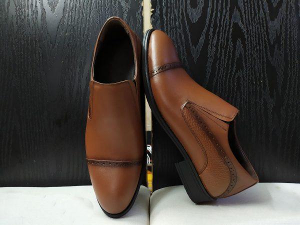 کفش روزمره مردانه مدل gcm-2007 رنگ عسلی