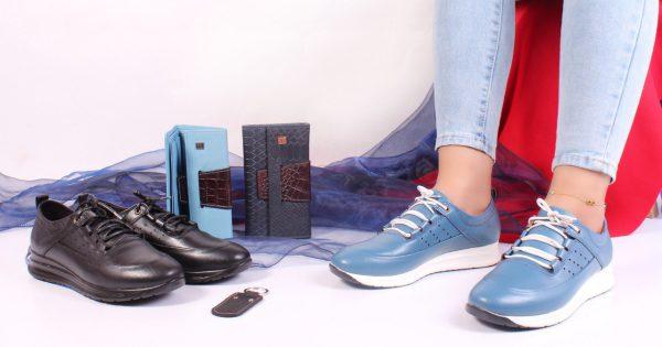 کفش کتونی زنانه مدل gcw-2501 رنگ آبی