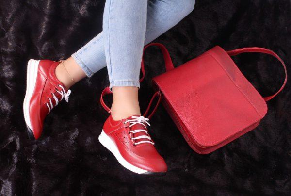 کفش کتونی زنانه مدل gcw-2501 رنگ قرمز
