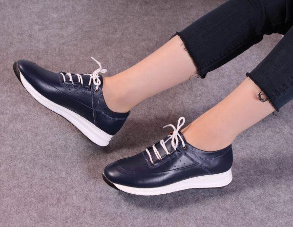 کفش کتونی زنانه مدل gcw-2501 رنگ آبی تیره